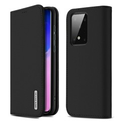 Samsung Galaxy S20 case - Dux Ducis Wish Wallet Book Case - Black