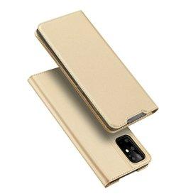 Dux Ducis Samsung Galaxy S20 Plus case - Dux Ducis Skin Pro Book Case - Gold