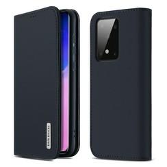 Samsung Galaxy S20 Plus case - Dux Ducis Wish Wallet Book Case - Blue
