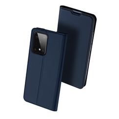 Samsung Galaxy S20 Ultra hoesje - Dux Ducis Skin Pro Book Case - Donker Blauw