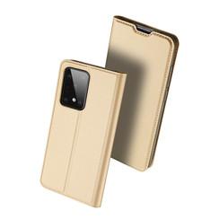 Samsung Galaxy S20 Ultra case - Dux Ducis Skin Pro Book Case - Gold