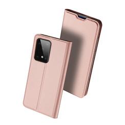 Samsung Galaxy S20 Ultra hoesje - Dux Ducis Skin Pro Book Case - Rosé-Goud