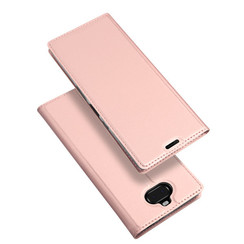 Sony Xperia 10 Plus case - Dux Ducis Skin Pro Book Case - Rosé-Gold