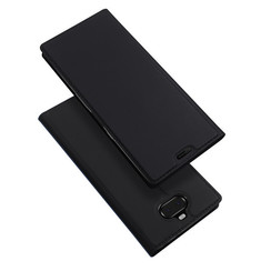Sony Xperia 10 Plus case - Dux Ducis Skin Pro Book Case - Black
