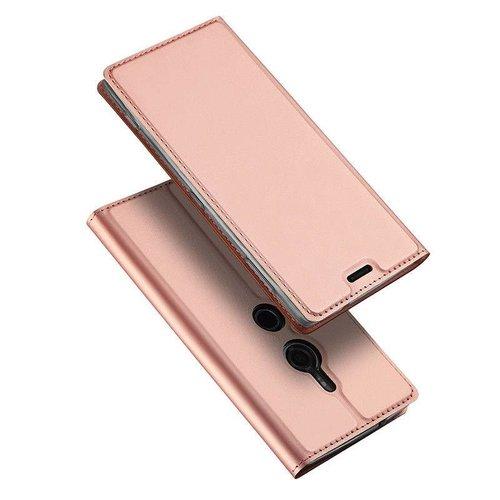 Dux Ducis Sony Xperia XZ3 hoesje - Dux Ducis Skin Pro Book Case - Roze