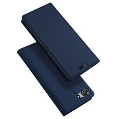 Sony Xperia XZ4 Compact hoesje - Dux Ducis Skin Pro Book Case - Blauw