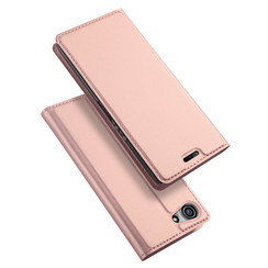 Sony Xperia XZ4 Compact case - Dux Ducis Skin Pro Book Case - Rosé-Gold