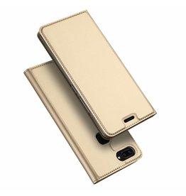 Dux Ducis Vivo X20 case - Dux Ducis Skin Pro Book Case - Gold