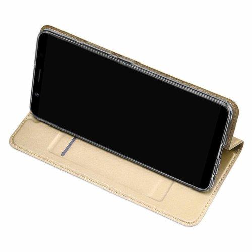 Dux Ducis Vivo X20 hoesje - Dux Ducis Skin Pro Book Case - Goud