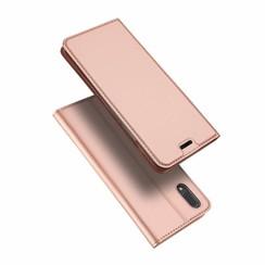 Vivo X21 case - Dux Ducis Skin Pro Book Case - Pink