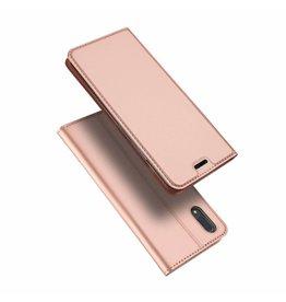 Dux Ducis Vivo X21 case - Dux Ducis Skin Pro Book Case - Pink
