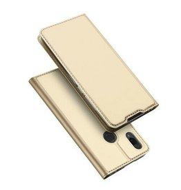 Dux Ducis Xiaomi Mi Play case - Dux Ducis Skin Pro Book Case - Gold