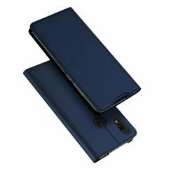 Xiaomi Redmi 7 case - Dux Ducis Skin Pro Book Case - Blue