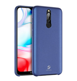 Dux Ducis Xiaomi Redmi 8 case - Dux Ducis Skin Lite Back Cover - Blue
