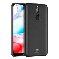 Xiaomi Redmi 8 case - Dux Ducis Skin Lite Back Cover - Black