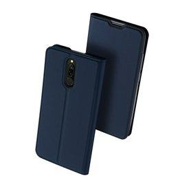 Dux Ducis Xiaomi Redmi 8 case - Dux Ducis Skin Pro Book Case - Blue