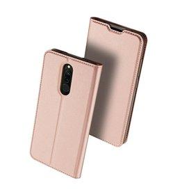 Dux Ducis Xiaomi Redmi 8 case - Dux Ducis Skin Pro Book Case - Rose Gold