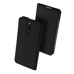 Xiaomi Redmi 8 case - Dux Ducis Skin Pro Book Case - Black