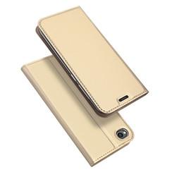 Xiaomi Redmi Go case - Dux Ducis Skin Pro Book Case - Gold