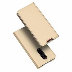 Xiaomi Redmi K20 Pro case - Dux Ducis Skin Pro Book Case - Gold