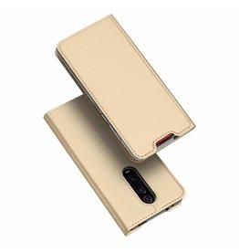 Dux Ducis Xiaomi Redmi K20 Pro case - Dux Ducis Skin Pro Book Case - Gold