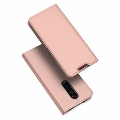 Xiaomi Redmi K20 Pro case - Dux Ducis Skin Pro Book Case - Rosé-Gold