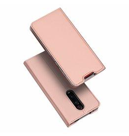 Dux Ducis Xiaomi Redmi K20 Pro case - Dux Ducis Skin Pro Book Case - Rosé-Gold