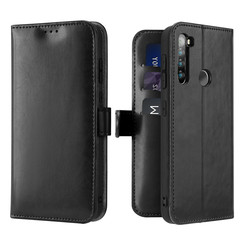 Xiaomi Redmi Note 8T case - Dux Ducis Kado Wallet Case - Black
