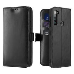 Xiaomi Redmi Note 8T hoesje - Dux Ducis Kado Wallet Case - Zwart