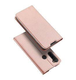 Dux Ducis Xiaomi Redmi Note 8T case - Dux Ducis Skin Pro Book Case - Rosé Gold