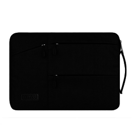 WIWU WIWU - Laptop sleeve 13 inch - Pocket Laptop & MacBook Sleeve - Zwart