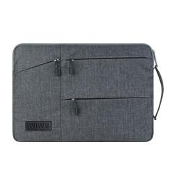 WIWU - Laptop sleeve 13 inch - Pocket Laptop & MacBook Sleeve - Grijs