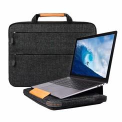 WIWU - Laptop sleeve 15.4 inch - Smart Stand Laptoptas - Zwart