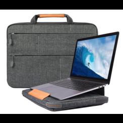 WIWU - Laptop sleeve 15.4 inch - Smart Stand Laptoptas - Grijs