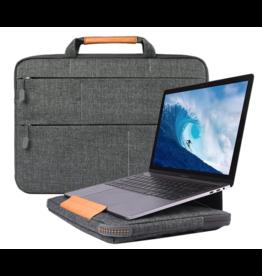 WIWU WIWU - Laptop sleeve 15.4 inch - Smart Stand Laptoptas - Grijs