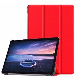 Case2go Samsung Galaxy Tab A 10.5 Tri-Fold Book Case Red