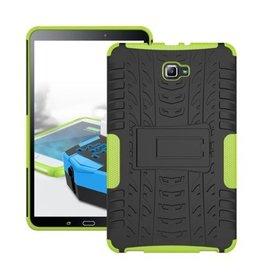 Case2go Samsung Galaxy Tab A 10.1 (2016/2018) Schokbestendige Back Cover Groen