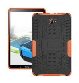 Case2go Samsung Galaxy Tab A 10.1 (2016/2018) Schokbestendige Back Cover Oranje