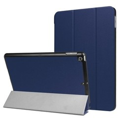 iPad 9.7 - Tri-Fold Book Case - Donker Blauw