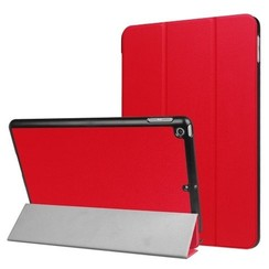 iPad 9.7 - Tri-Fold Book Case - Rood