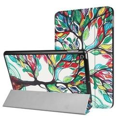 iPad 9.7 - Tri-Fold Book Case - Gekleurde Boom
