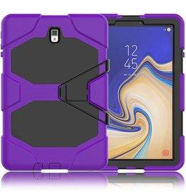 Case2go Samsung Galaxy Tab A 10.5 Extreme Armor Case Paars