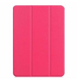 Case2go Apple iPad Pro 11 hoes -  Tri-Fold Book Case - Magenta