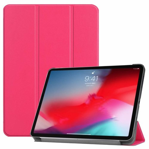 Cover2day Apple iPad Pro 11 hoes -  Tri-Fold Book Case - Magenta