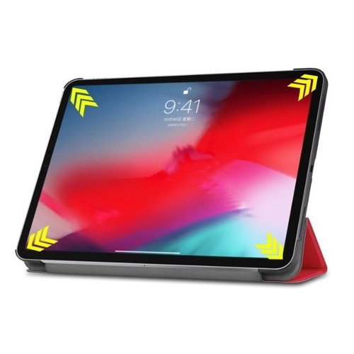 Cover2day Apple iPad Pro 11 hoes -  Tri-Fold Book Case - Rood