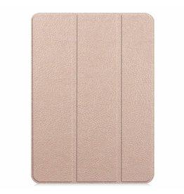 Case2go Apple iPad Pro 11 hoes -  Tri-Fold Book Case - Goud