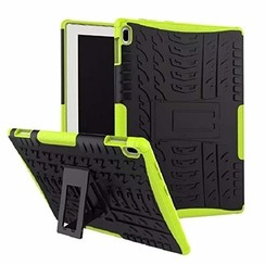 Lenovo Tab E10 hoes - Schokbestendige Back Cover - Groen