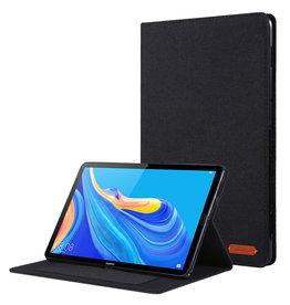 Case2go Huawei Mediapad M6 8.4 inch hoes - Book Case met Soft TPU houder - Zwart