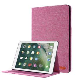 Case2go iPad 9.7 (2017/2018) hoes - Book Case met Soft TPU houder - Roze