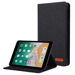 iPad Mini 4/5 (2019) hoes - Book Case met Soft TPU houder - Zwart